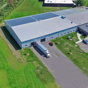Chemetal rooftop commercial solar
