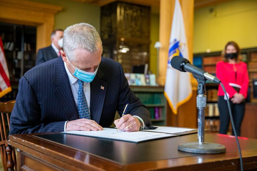 MA Gov. Baker signs climate legislation