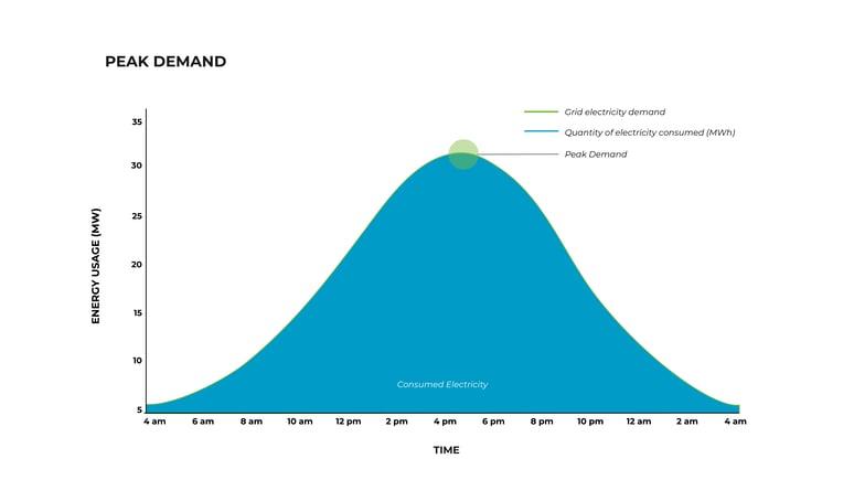 Peak Demand Graphic